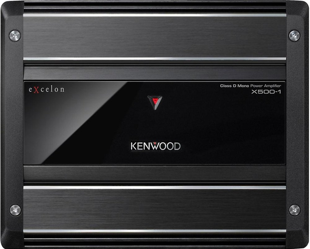 x500-1 kenwood car amplifier
