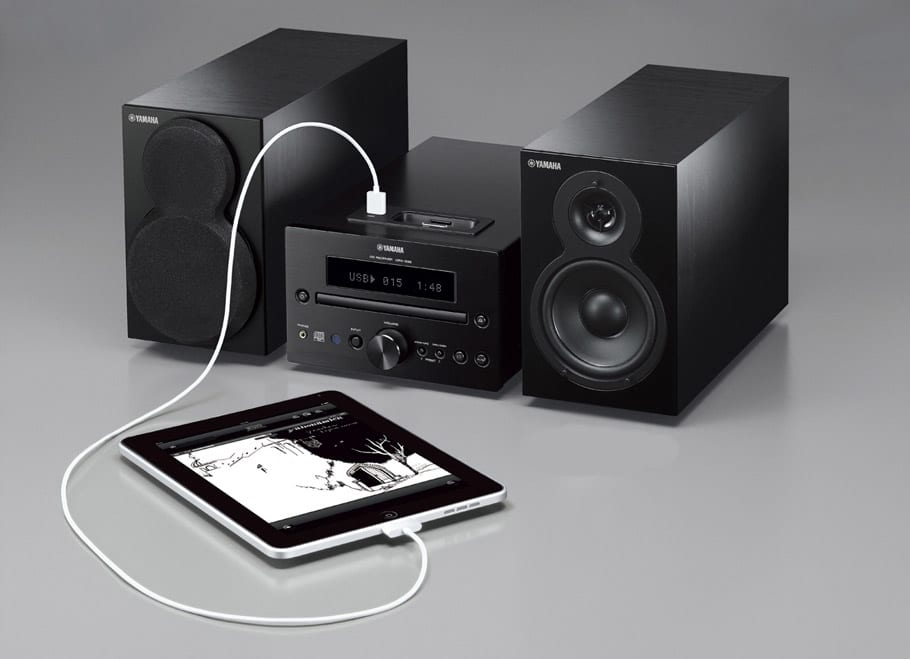 Component home stereo
